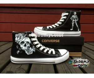 converse all star, fashion shoes, and present image