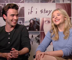 smile, if i stay, and jamie blackley image
