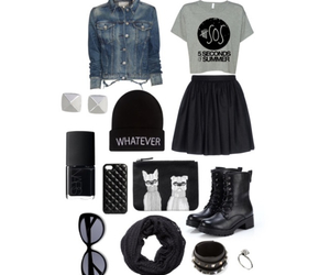 black, black boots, and boots image