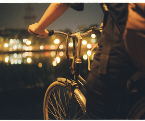 bicycle, boy, and love image
