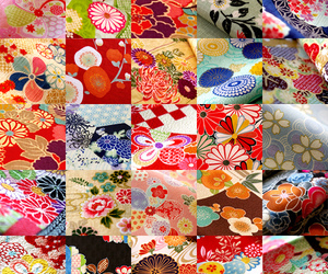 bloom, fabric, and japan image