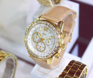 watch, fashion, and guess image
