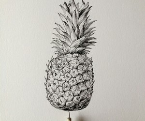 art and pineapple image