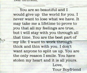 beautiful, boyfriend, and don't give up image