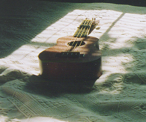 background, guitar, and sunlight image