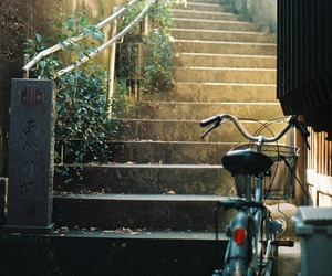 vintage, bike, and photography image