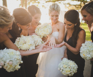 flowers, girl, and married image