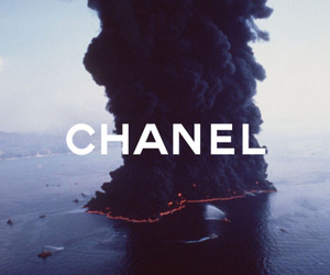 chanel, photography, and smoke image