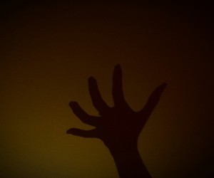 Darkness, fear, and hand image