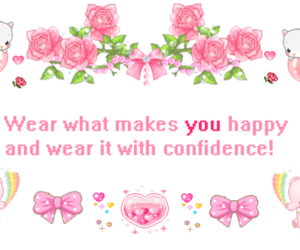 kawaii, confidence, and quote image