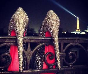 paris, louboutin, and heels image
