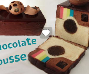 cake, instagram, and chocolate image