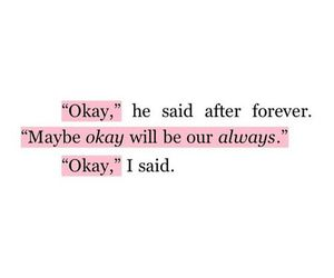 the fault in our stars, book, and okay image