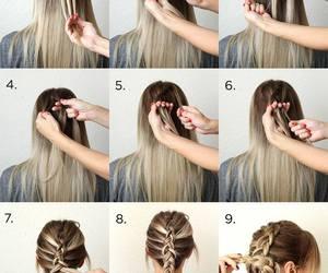 curls, hair, and long hair image