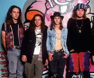eddie vedder, pearl jam, and jeff ament image