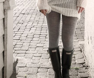 fashion, boots, and hunter image