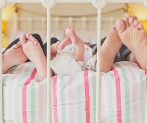 baby, couple, and feet image