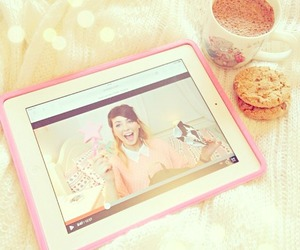 zoella, girl, and food image