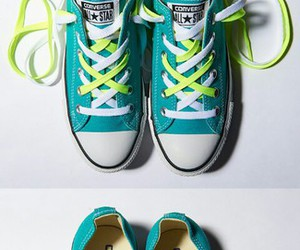 converse, cool, and shoe image