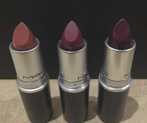 mac, lipstick, and purple image