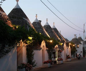 alberobello, europe, and holiday image