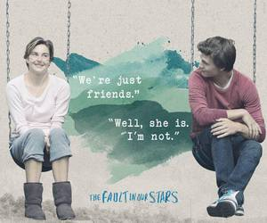 the fault in our stars, tfios, and friends image