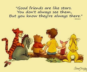 friends, quote, and winnie the pooh image