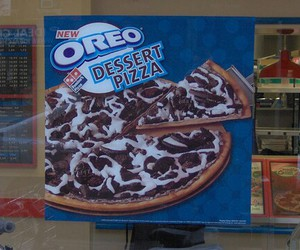 oreo, pizza, and yummy image