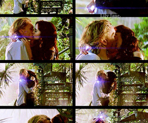 books, kiss, and clarissa fray image