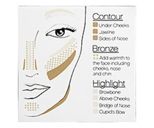 contour and highlight image