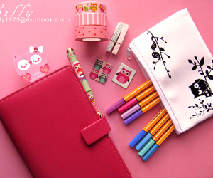 agenda, diary, and filofax image