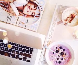 coffee, food, and macbook image