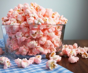 pink and popcorn image