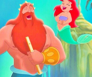 ariel, dad, and sing image