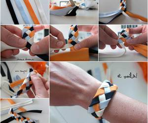 bracelet, diy, and crafts image