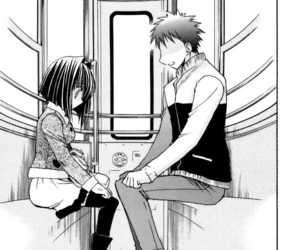karin, manga, and chibi vampire image