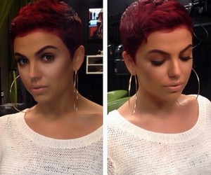 haircolor, short hairstyle, and hairstyle image