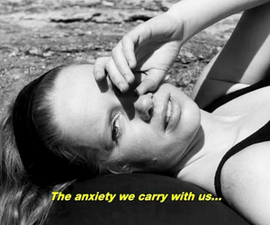 anxiety, persona, and quote image