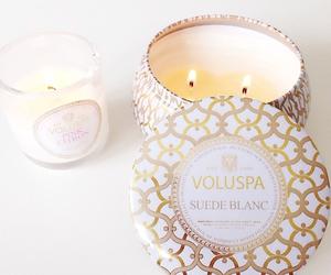 candle, voluspå, and light image