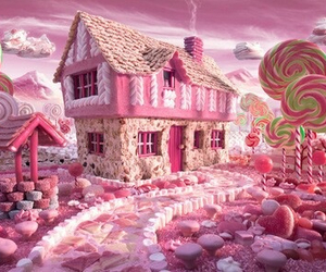 candy, candy land, and food image
