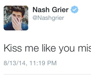 nash, tweet, and grier image