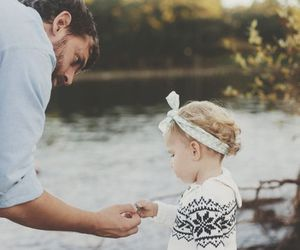 love, cute, and dad image