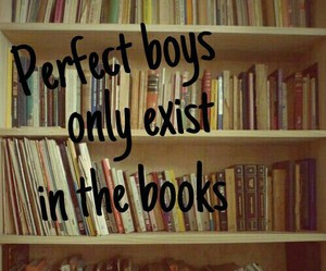 books, boys, and perfect image