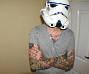 tattoo, star wars, and boy image