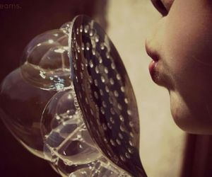 bubbles, beautiful, and girl image