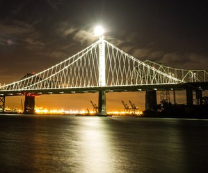 bay bridge and jessie lewis image