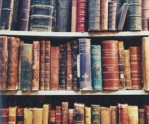 book, old, and read image
