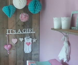 baby, decor, and girl image