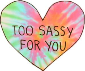 sassy, heart, and overlay image