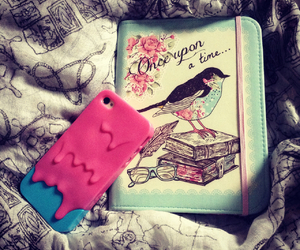 bed, bird, and case image